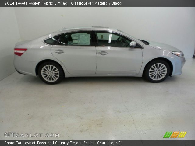 classic silver metallic 2014 toyota avalon hybrid limited black interior. Black Bedroom Furniture Sets. Home Design Ideas