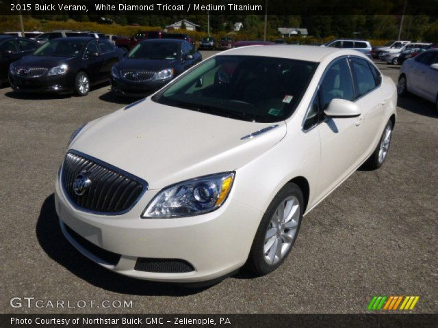 2015 Buick Verano  in White Diamond Tricoat