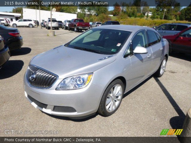 2015 Buick Verano  in Quicksilver Metallic