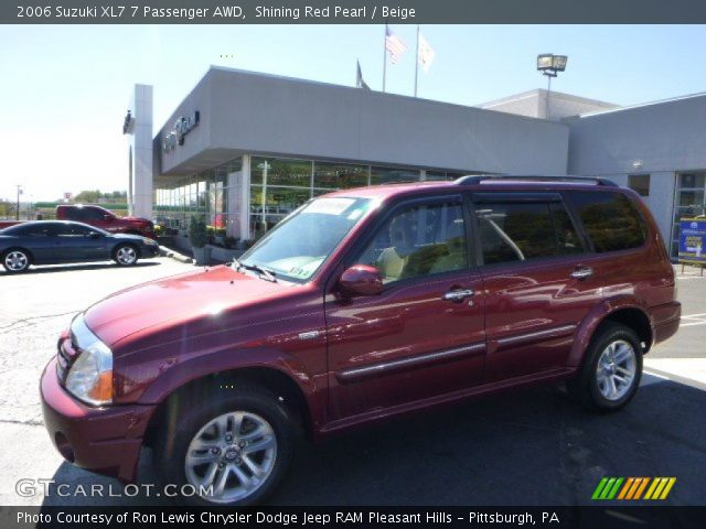 2006 Suzuki XL7 7 Passenger AWD in Shining Red Pearl
