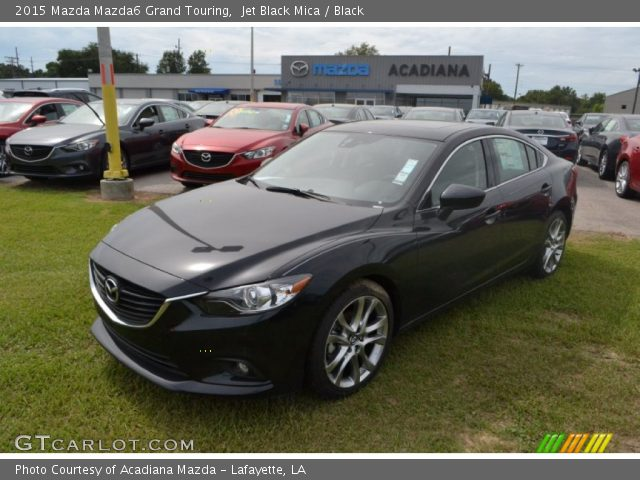 2015 Mazda Mazda6 Grand Touring in Jet Black Mica