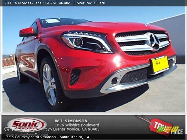 2015 Mercedes-Benz GLA 250 4Matic in Jupiter Red