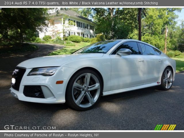 2014 Audi RS 7 4.0 TFSI quattro in Ibis White