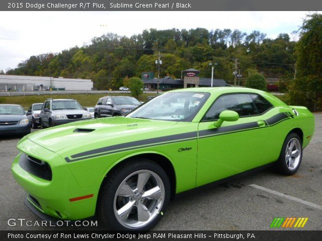 2015 lime green challenger autos post