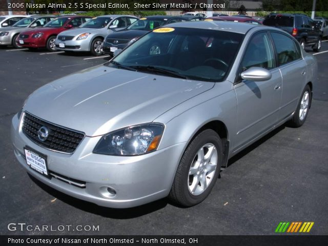 Sheer Silver Metallic 2006 Nissan Altima 25 S Special Edition