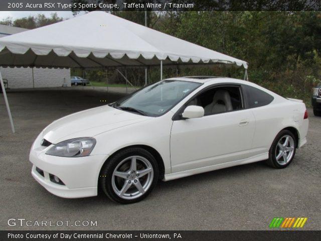 taffeta white 2005 acura rsx type s sports coupe