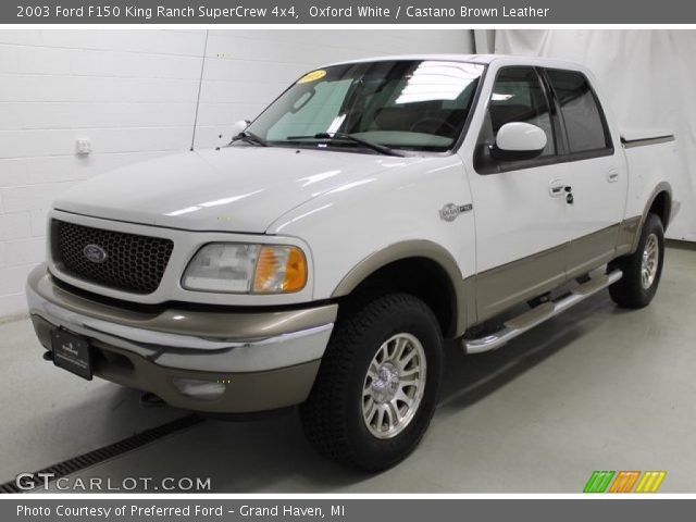 2003 Ford F150 King Ranch SuperCrew 4x4 in Oxford White