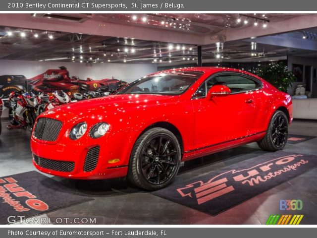2010 Bentley Continental GT Supersports in St. James