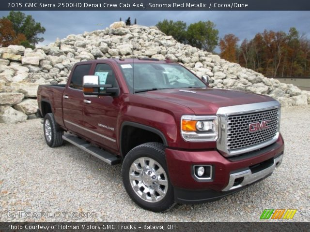 2015 GMC Sierra 2500HD Denali Crew Cab 4x4 in Sonoma Red Metallic