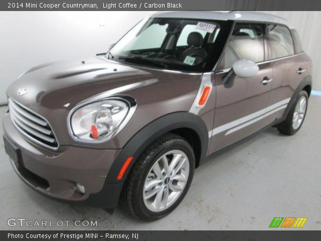 light coffee 2014 mini cooper countryman carbon black interior vehicle. Black Bedroom Furniture Sets. Home Design Ideas