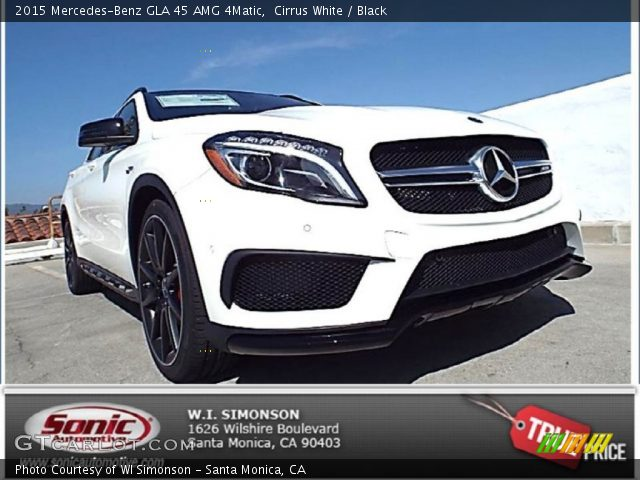 2015 Mercedes-Benz GLA 45 AMG 4Matic in Cirrus White