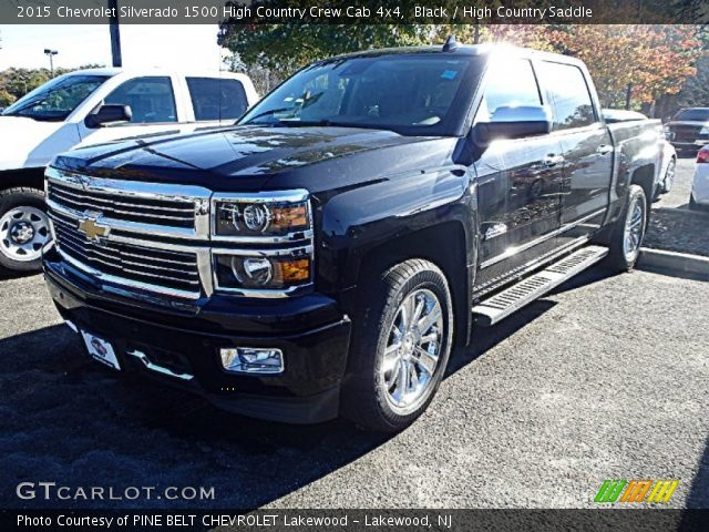 2015 Chevrolet Silverado 1500 High Country Crew Cab 4x4 in Black