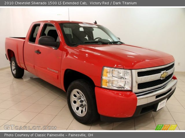 2010 Chevrolet Silverado 1500 LS Extended Cab in Victory Red