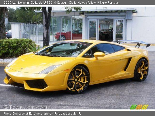 2009 Lamborghini Gallardo LP560-4 Coupe in Giallo Halys (Yellow)