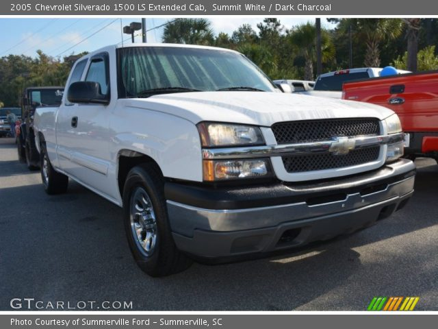 2005 Chevrolet Silverado 1500 LS Extended Cab in Summit White