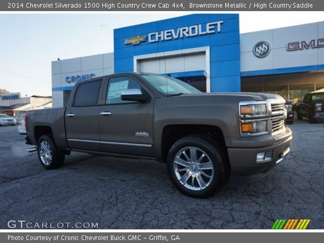 2014 Chevrolet Silverado 1500 High Country Crew Cab 4x4 in Brownstone Metallic