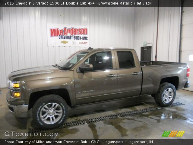 2015 Chevrolet Silverado 1500 LT Double Cab 4x4 in Brownstone Metallic