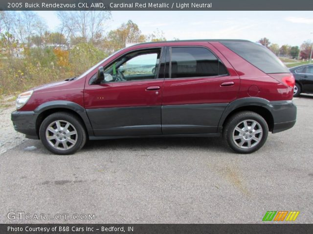 2005 Buick Rendezvous CXL AWD in Cardinal Red Metallic