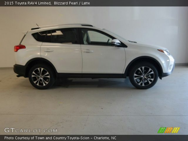 blizzard pearl 2015 toyota rav4 limited latte interior vehicle archive. Black Bedroom Furniture Sets. Home Design Ideas