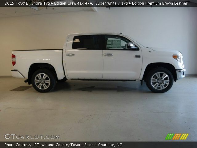 super white 2015 toyota tundra 1794 edition crewmax 4x4. Black Bedroom Furniture Sets. Home Design Ideas
