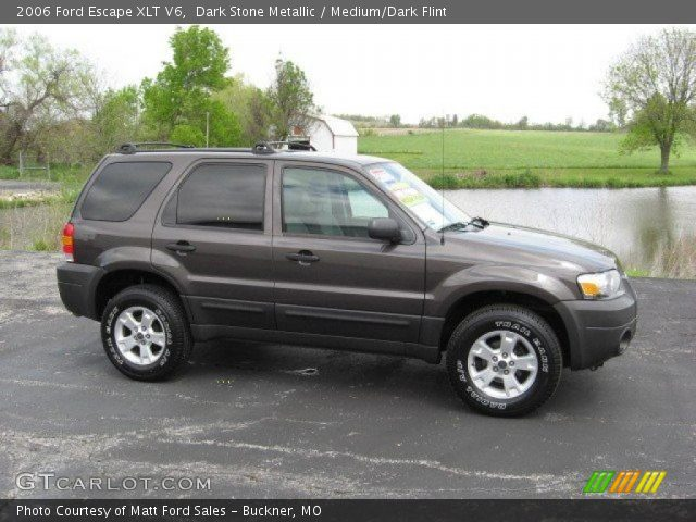2006 ford escape xlt v6 in dark stone metallic click to see large