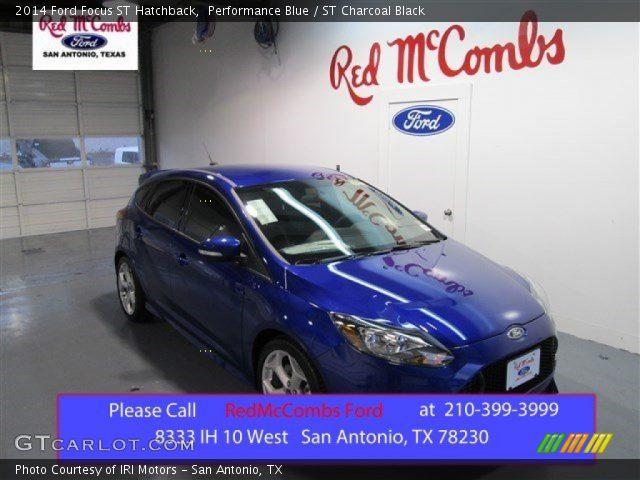 Performance Blue - 2014 Ford Focus ST Hatchback - ST ...