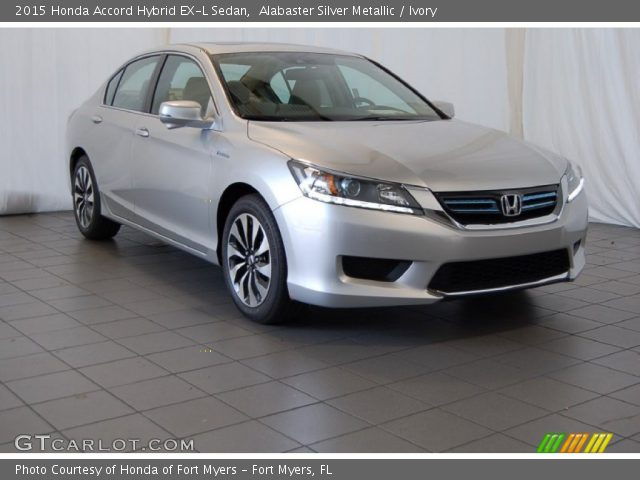 2015 Honda Accord Hybrid EX-L Sedan in Alabaster Silver Metallic