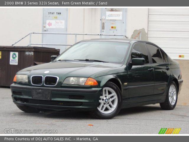 2000 BMW 3 Series 323i Sedan in Fern Green Metallic