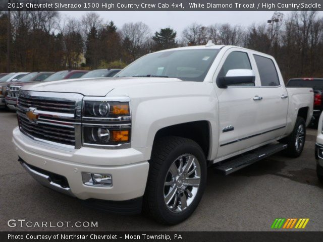 white diamond tricoat 2015 chevrolet silverado 1500 high country crew cab 4x4 high country. Black Bedroom Furniture Sets. Home Design Ideas