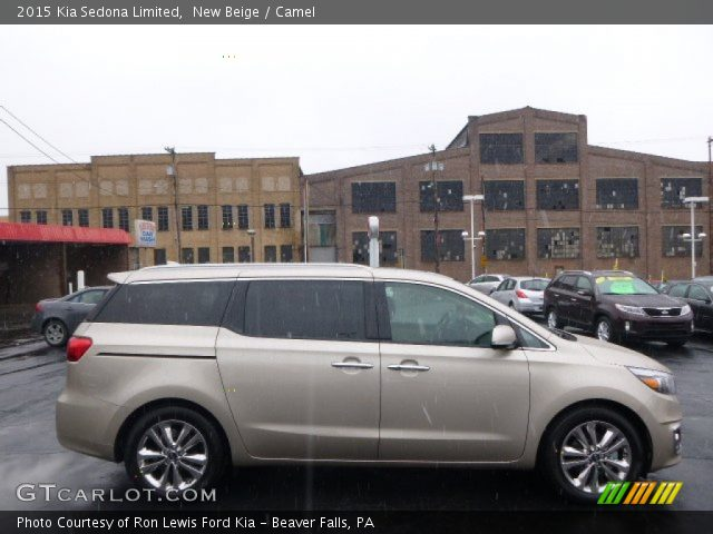 2015 Kia Sedona Limited in New Beige