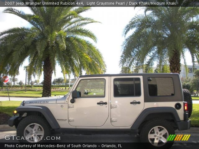 Light graystone pearl 2007 jeep wrangler unlimited - Jeep wrangler unlimited interior lights ...