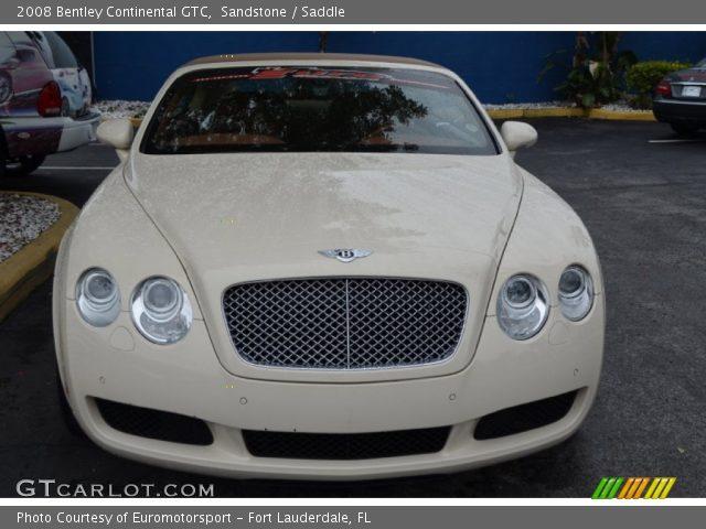 2008 Bentley Continental GTC  in Sandstone