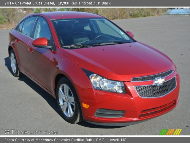 2014 Chevrolet Cruze Diesel in Crystal Red Tintcoat