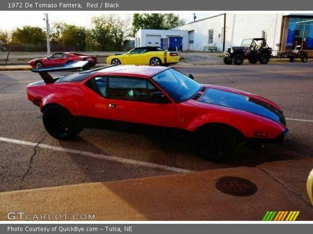 1972 De Tomaso Pantera  in Red