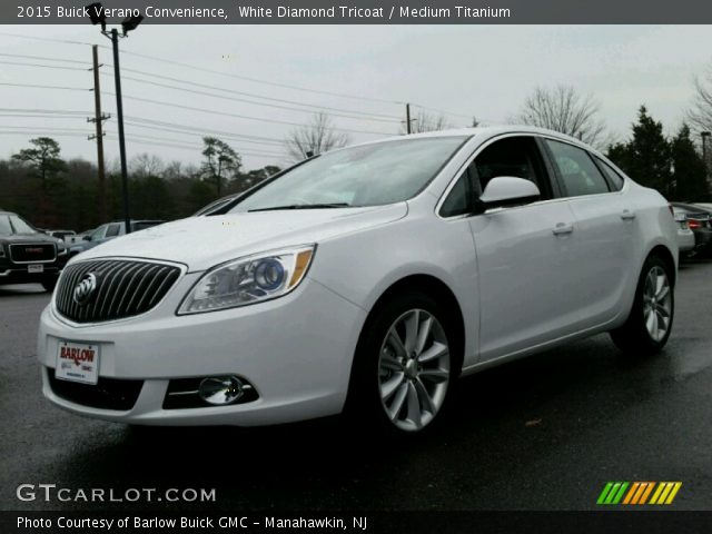 2015 Buick Verano Convenience in White Diamond Tricoat