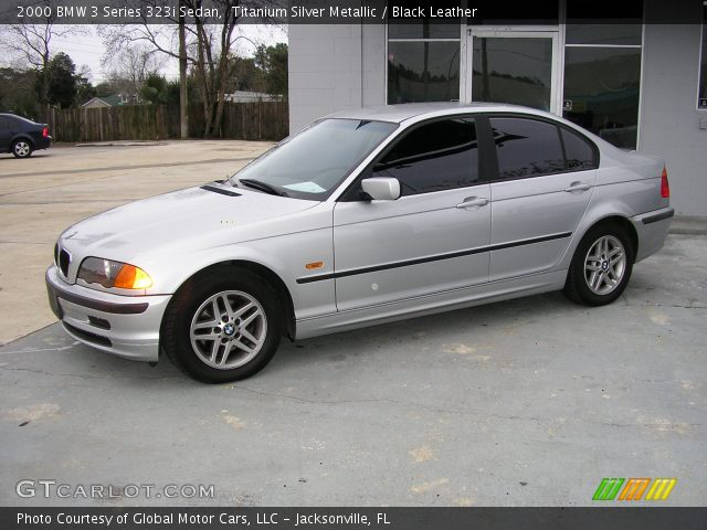 2000 BMW 3 Series 323i Sedan in Titanium Silver Metallic