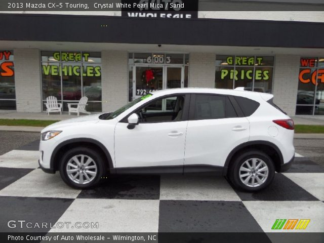 2013 Mazda CX-5 Touring in Crystal White Pearl Mica