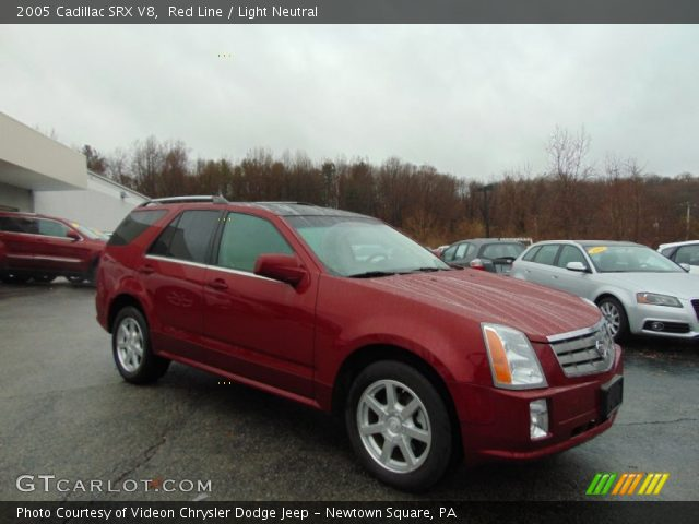 2005 Cadillac SRX V8 in Red Line