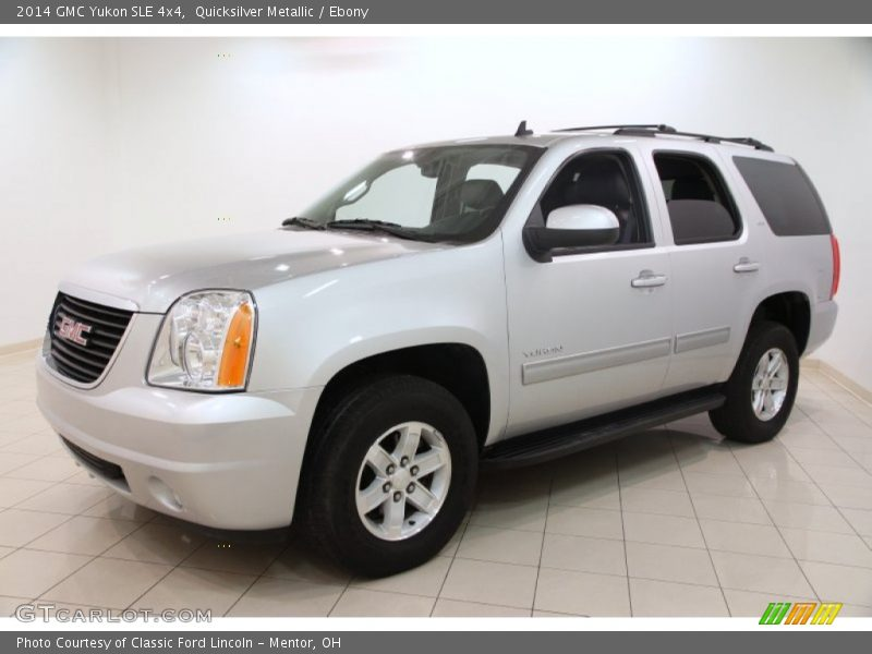 Quicksilver Metallic / Ebony 2014 GMC Yukon SLE 4x4