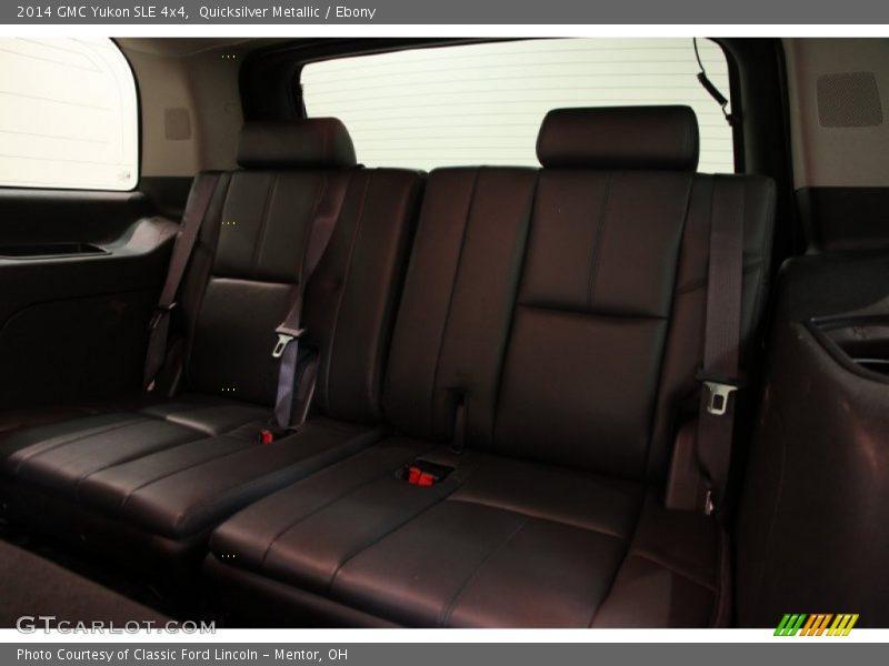Quicksilver Metallic / Ebony 2014 GMC Yukon SLE 4x4