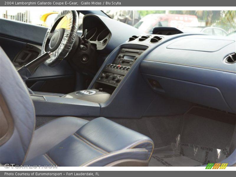 2004 Gallardo Coupe E-Gear Blu Scylla Interior