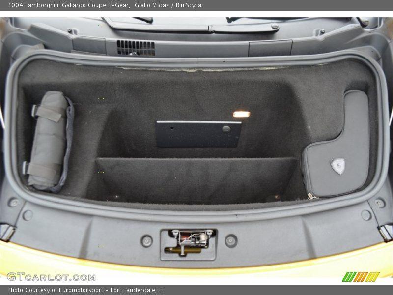 2004 Gallardo Coupe E-Gear Trunk