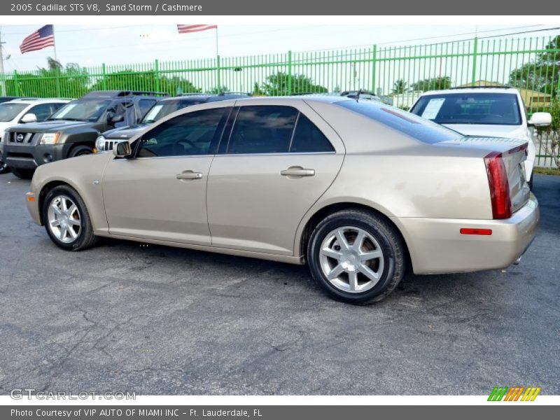 Sand Storm / Cashmere 2005 Cadillac STS V8