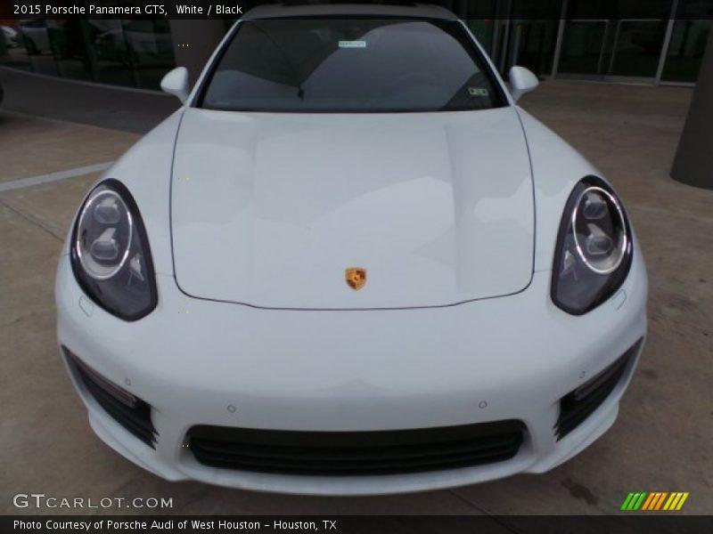 White / Black 2015 Porsche Panamera GTS
