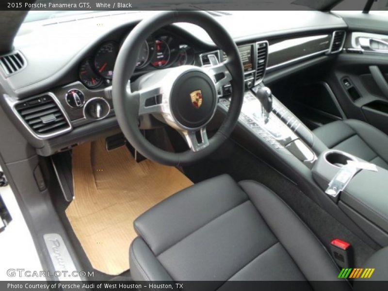 Black Interior - 2015 Panamera GTS