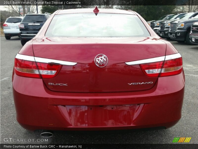 Crystal Red Tintcoat / Cashmere 2015 Buick Verano