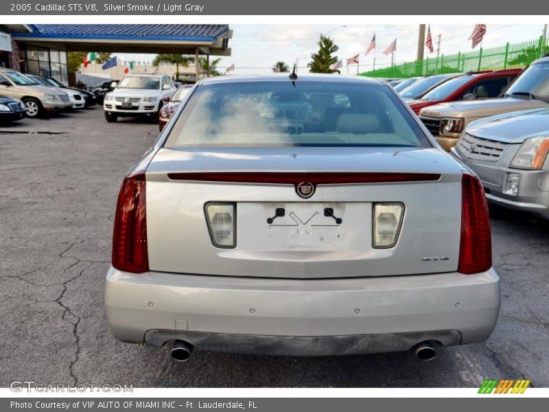 Silver Smoke / Light Gray 2005 Cadillac STS V8