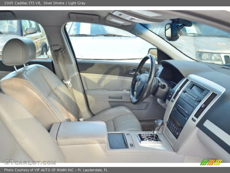 Silver Smoke / Light Gray 2005 Cadillac STS V8