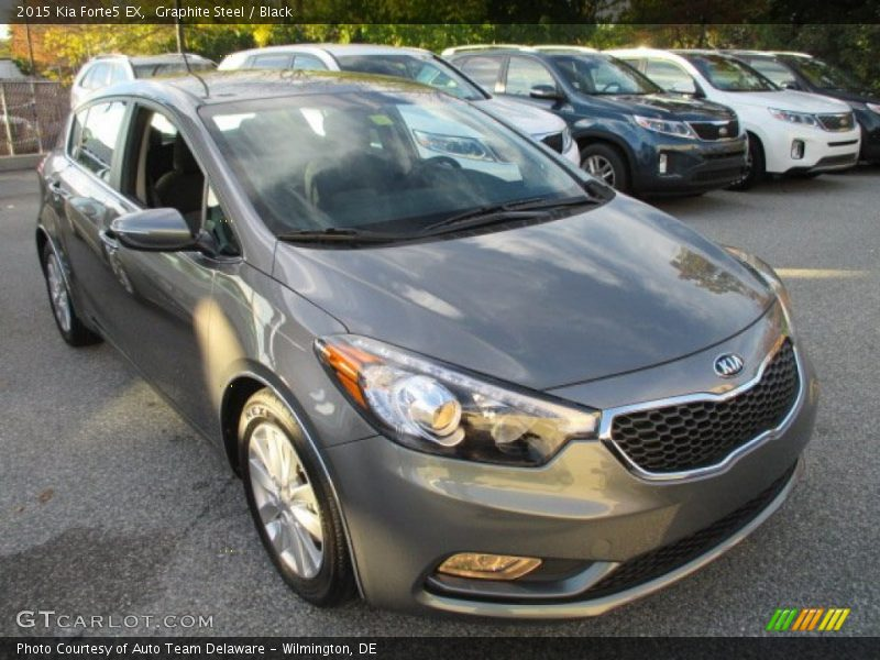 Front 3/4 View of 2015 Forte5 EX