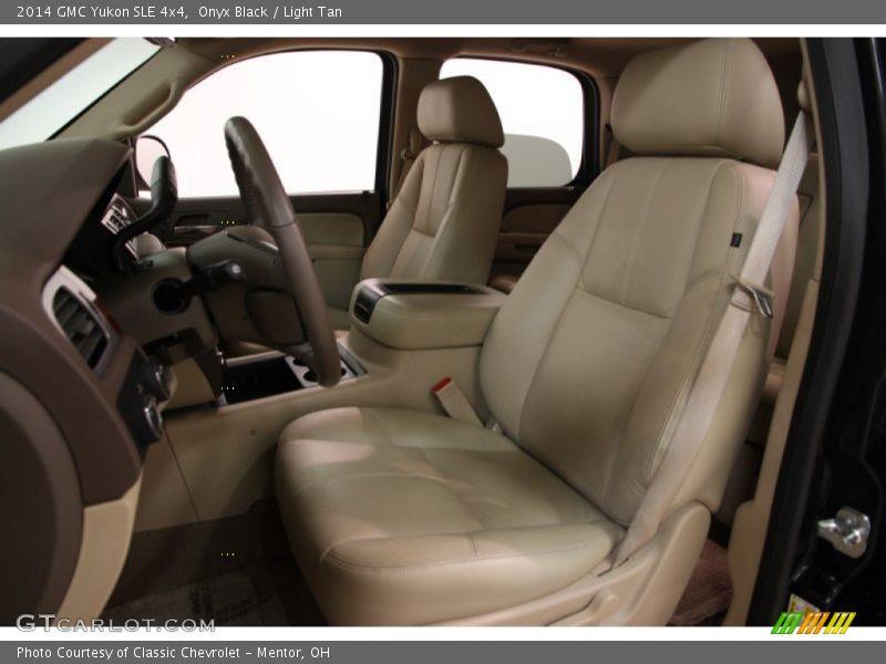 Front Seat of 2014 Yukon SLE 4x4